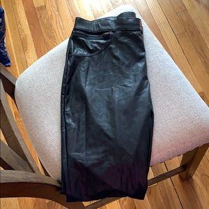 Brand new women's leather leggings